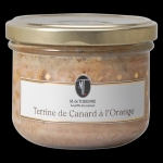 Duck terrine with orange: the traditional starter