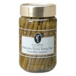Extra fine hand set French beans: the best quality